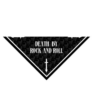 Death By Rock And Roll Bandana