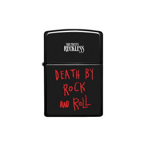 Death by Rock and Roll Wind-Proof Lighter
