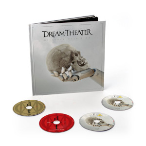 Dream Theater - Distance Over Time 2CD + Blu-ray + DVD Artbook