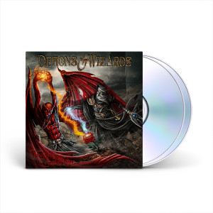 Demons & Wizards - Touched By The Crimson King (Remasters 2019) 2-CD 6-Panel Digipak With Booklet