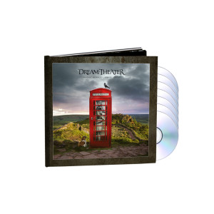 Dream Theater - Distant Memories - Live in London Ltd. Deluxe 3CD+2Blu-Ray+2DVD Artbook