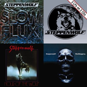 Steppenwolf - Slow Flux/Hour of the Wolf/Skullduggery CD