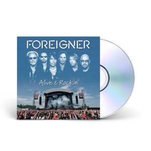 Foreigner Alive & Rockin' CD