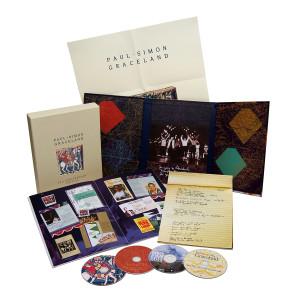 Paul Simon Graceland 25th Anniversary Collector's Edition Box Set CD