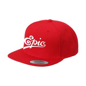 Official Epic Records Embroidered Snapback