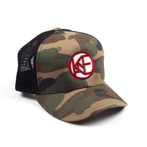 Kane Brown Twill Patch Woodland/Black Hat