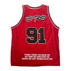 Floor Seats II Basketball Jersey