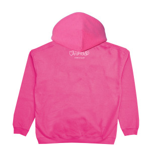 Respect Mother Nature Pink Hoodie