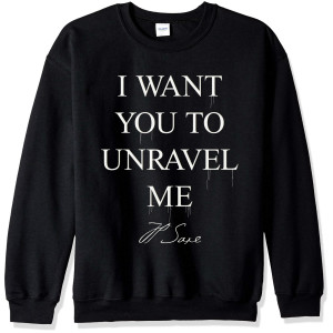 I Want You To Unravel Me Crewneck Sweatshirt