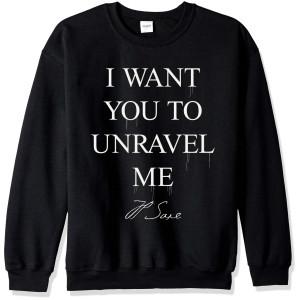 I Want You To Unravel Me Crewneck Sweatshirt