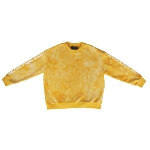 Dyed Gold Crewneck