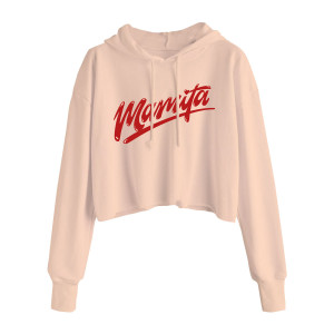 CNCO - Ladies Mamita Crop Top Hoodie