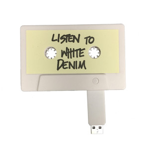 White Denim USB Tape