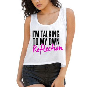 Fifth Harmony I'm Talking To My Own Reflection Crop Top