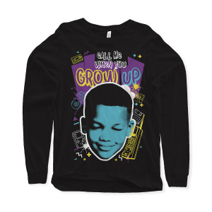 Call Me When You Grow Up Long-Sleeve T-Shirt