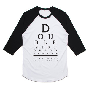Foreigner Double Vision Raglan T-Shirt
