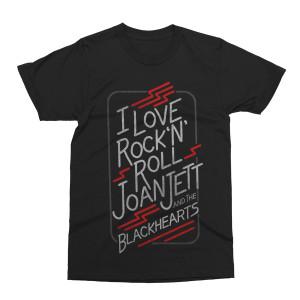 I Love Rock 'N' Roll Black T-shirt