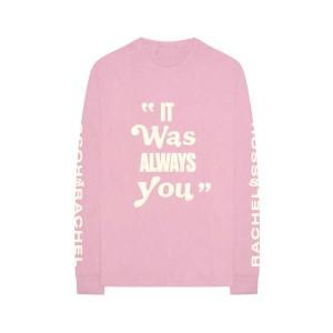 ROSS & RACHEL Pink Long-Sleeve T-Shirt + Digital Download