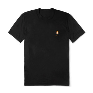 JP Saxe Embroidered Black T-Shirt