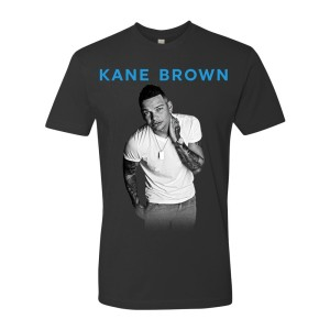 Kane Brown Photo/Tour Charcoal Grey Tee