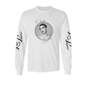 Cheap Queen Long Sleeve Tour Tee