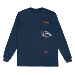Nasty Nas Car Longsleeve T-Shirt