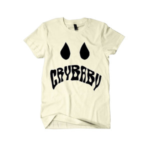Cry Baby Vintage White Tee