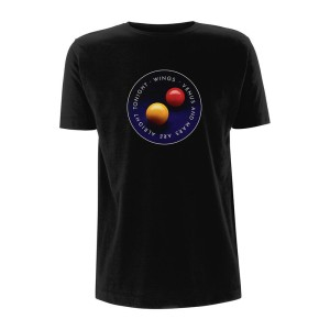 Wings Venus And Mars Black Men's Tee