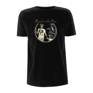 Band On The Run Drums/Logo Black T-shirt