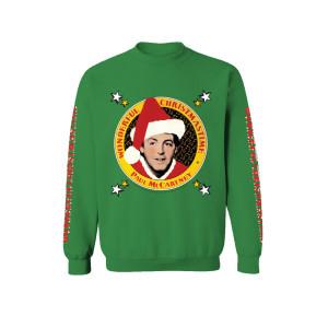 Wonderful Christmas Time Pattern Crewneck