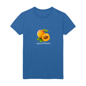 Rex Orange County Apricot T-shirt - Royal Blue