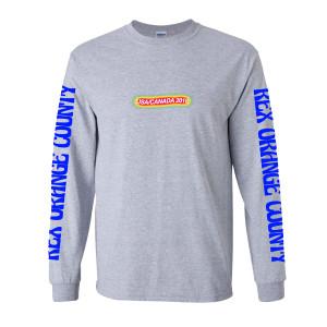 2018 Tour Long-Sleeve T-shirt - Grey