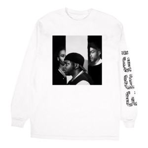 A Tribe Called Quest - White 1993 Photo Long-Sleeve T-Shirt