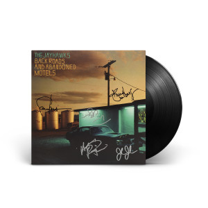 Back Roads and Abandoned Motels SIGNED LP