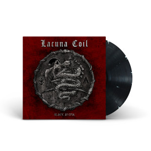 Lacuna Coil - Black Anima Black & White Swirl Vinyl
