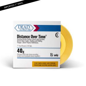 "Dead Lord - Distance Over Time Transparent Orange 7"" Vinyl"