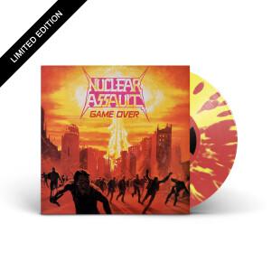 Nuclear Assault - Game Over Red & Yellow Splatter Vinyl LP