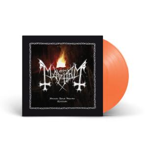 Mayhem - Atavistic Black Disorder / Kommando - EP Tangerine Vinyl LP + Digital Download
