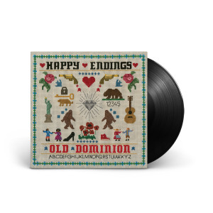 Old Dominion 'Happy Endings' Vinyl LP