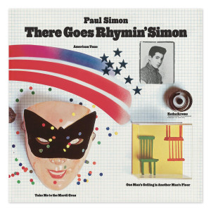 Paul Simon There Goes Rhymin' Simon LP