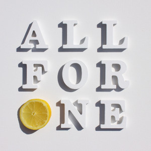 "All For One 7"" Vinyl Single"
