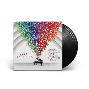 Sara Bareilles - Amidst the Chaos: Live from the Hollywood Bowl Limited Edition Black 3LP Vinyl