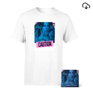 Caution Album Cover Tee + Download