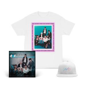 Que Quiénes Somos Signature T-Shirt + Snapback Hat + Digital Download