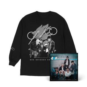 CNCO B&W Album Long Sleeve Tee + DD