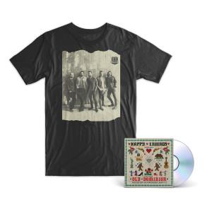 "Old Dominion ""Happy Endings"" CD + T-Shirt Bundle"