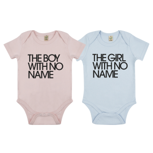 The Boy / Girl With No Name Babygrow (Ltd Edition)