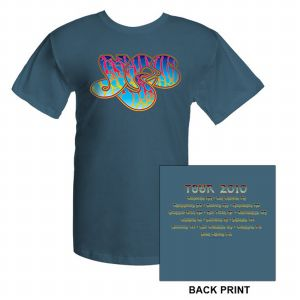 Yes Classic Logo 2010 Tour T-Shirt