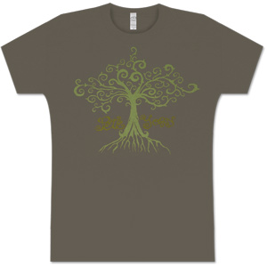 Light Green Root Women's T-Shirt