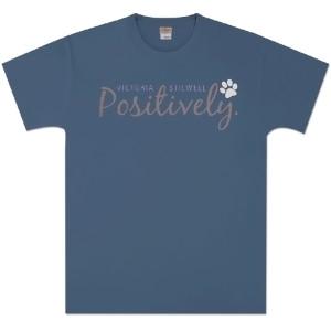 Positively Unisex T-Shirt - Indigo